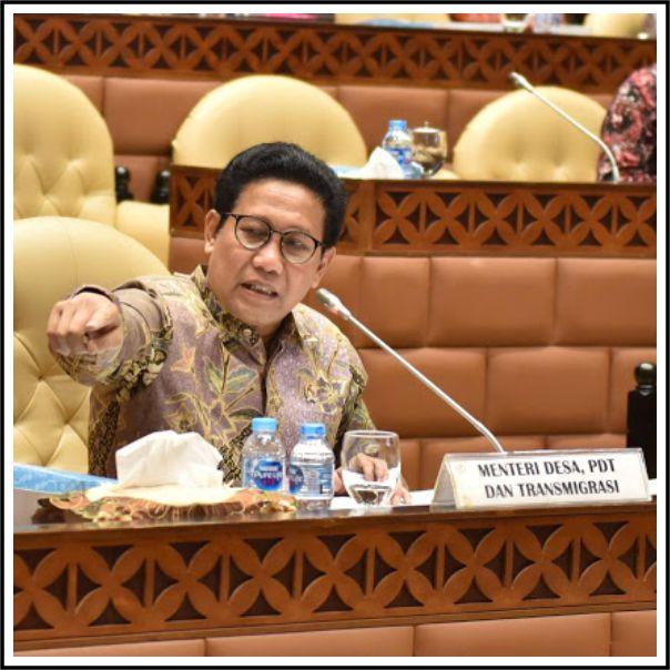 Menteri Desa Abdul Halim Paparkan Program Kemendesa Tahun 2021, Diantaranya Digitalisasi Desa